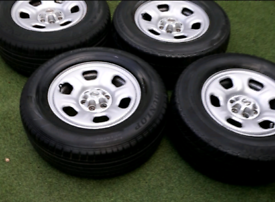 Nissan navara steel wheels