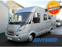 2009 Fiat Hymer B654 CL A-Class Motorhome 4 Berth 4 Seat Belts Manual French Bed