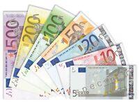 Euros wanted