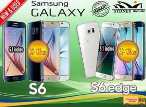 NEW & USED SAMSUNG GALAXY S6 &S6 EDGE 64gb 32gb UNLOCKED Sydney Region Preview
