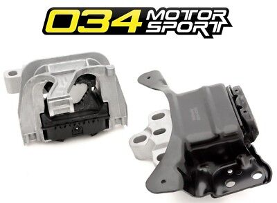For VW Golf R GTI Audi A3 TT Quattro S3 Engine Motor Mount Set 034 Motorsport