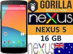 NEW GOOGLE NEXUS 5 16GB 100% UNLOCKED BIG SALE. Strathfield Strathfield Area Preview