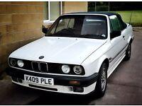 E30 BMW 318i cabrio convertible 1992