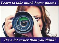 Local hands on Digital Photography Course Sat Sept 12