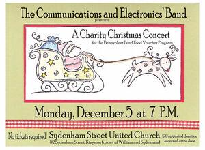 Military Band Charity Christmas Concert Kingston Kingston Area image 1