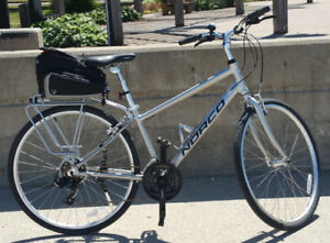 Silver Norco Yorkville Hybrid Bicycle - Medium
