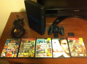 Play Station 2 Great Condition,5 Games, 1 Controller, 1 Mem card