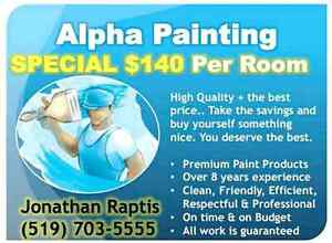 Painting special  $140 per room London Ontario image 1