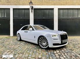 Rolls Royce Phantom Ghost Bentley Beauford Wedding Car Hire