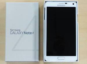 NEW GALAXY NOTE 4 WITH A BOX UNLOCKED Strathfield Strathfield Area Preview