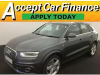 Audi Q3 2.0TDI ( 140ps ) S Line FROM £77 PER WEEK!