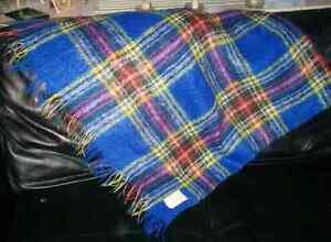 Hudson's Bay Company Mohair Wool Throw Blanket Vintage Kitchener / Waterloo Kitchener Area image 3