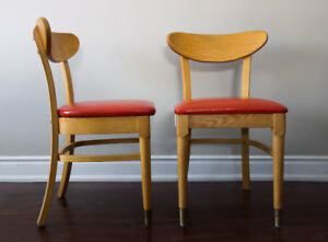 MADE IN TORONTO - Vintage Mid-Century Modern Dining Chairs