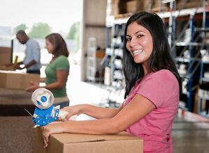 Warehouse Associate - MIDNIGHT shift - $12.75/hr- Scarborough,ON