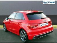 2015 Audi A1 SPORTBACK TFSI S LINE BLACK EDITION Petrol red Semi Auto