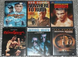 JCVD Universal Soldier/Street Fighter collection Group 1