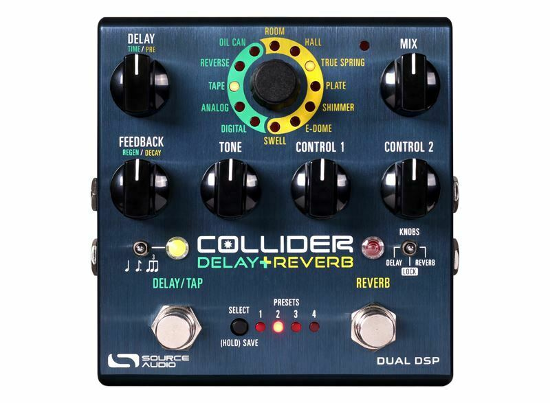 Used Source Audio Collider Delay Reverb Pedal