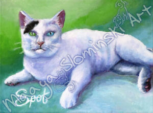 Pet Portraits custom created paintings drawings of furry friends