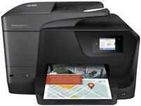 HP OfficeJet Pro 8715 All-in-One Printer, extra Print head and XL cartridges