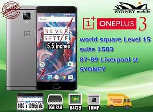 Brand New One plus 3 64GB 4G 6GB RAM DUAL SIM UNLOCKED Sydney Region Preview