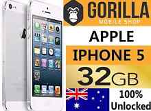IPHONE 5 32GB AS NEW CONDITION UNLOCEKD WITH WARRANTY Strathfield Strathfield Area Preview