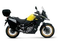 2018 SUZUKI V-STROM 650 ABS GT.DEMO BIKE.OTHER COLOURS AVAIL FROM GROUP STOCK