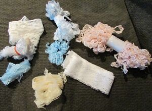 Lace Trim Lot - Various Colours - 20 metres PLUS Gatineau Ottawa / Gatineau Area image 1