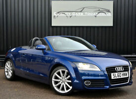 Audi TT Roadster 1.8 TFSI Convertible *Heated Seats+Extended Leather+Cruise etc*