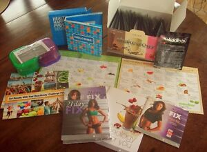 21 day fix workout dvd's and Shakeology triple combo & More