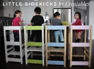 Little Sidekick learning tower kitchen stool by Creatables
