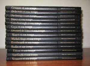 Collection de 14 volumes sur la peinture