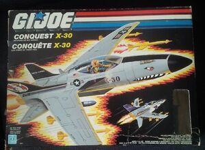 GI Joe Conquest x-30 vintage toy complete in box