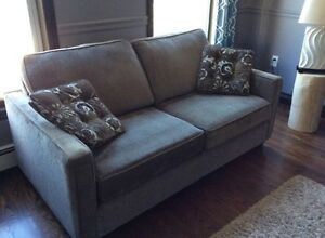 Sofa and rug for sale