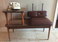 Vintage Telephone Table