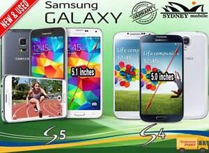 NEW & USED GALAXY S5 & S4 32GB 4G LTE UNLOCKED Sydney Region Preview