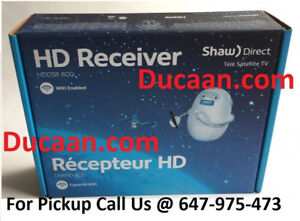 NEW Shaw Direct DSR 800 HD High-Definition Satellite Receiver
