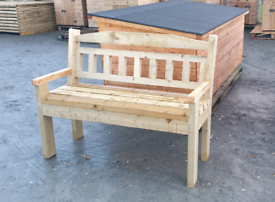 Strongest wooden garden park benches on the market