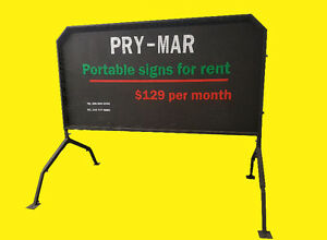 Portable signs ,mobile signs changeable letters .