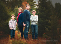 Merry Christmas! mini family photo sessions