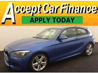 BMW 116 2.0TD ( bhp ) Sports Hatch 2013MY d M Sport FROM £62 PER WEEK!