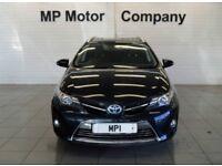 2014 14 TOYOTA AURIS 1.8 VVT-I EXCEL 5D 98 BHP CVT AUTO HYBRID SPORTS ESTATE,