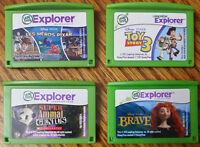 LEAPSTER EXPLORER CARTRIDGES SEE PICTURES FOR MORE DETAILS