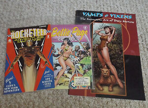 Three books from the late great Dave Stevens