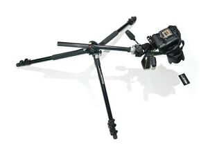 Pro Alluminium Manfrotto tripod with Manfrotto Ball Head