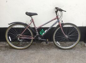 "LADIES RALEIGH MONSOON MOUNTAIN BIKE 18"" FRAME £45"