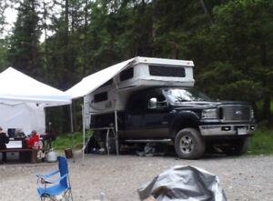 2009 Palomino truck back Pop up Camper