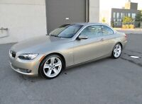 BMW 335I CONVERTIBLE 2008 CUIR TOIT MAG GPS IMPECCABLE