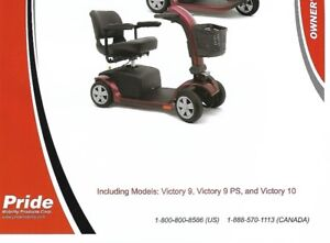 Victory model 10 mobility scooter