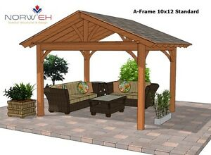 Gorgeous Pergola,Pavilion,Gazebo Kit FY Outdoor Space  Belleville Belleville Area image 5