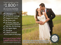 Wedding Photography:2 Photographers,12hrs Areas Most Experienced